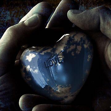 sky blue love by f-zimba