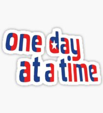 One Day at a Time- Cuba Intro Logo Sticker