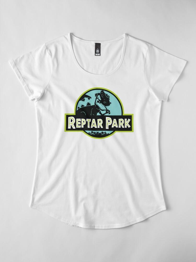 Alternative Ansicht von Reptar Park Premium Rundhals-Shirt
