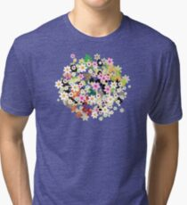 Floral tree Tri-blend T-Shirt