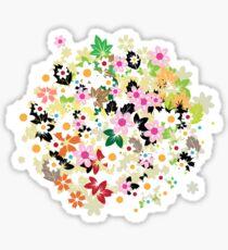 Floral tree Sticker