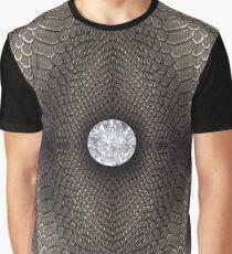 bondage, steampunk bondage, skin, skin pattern, diamond, brilliant, rock, adamant, minikin Graphic T-Shirt