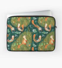 Muster 74 - Spielerische Otter am Fluss Laptoptasche
