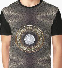 steampunk bondage, skin, skin pattern, diamond, brilliant, rock, adamant, minikin Graphic T-Shirt