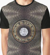 skin, skin pattern, diamond, brilliant, rock, adamant, minikin, watch face, clock face Graphic T-Shirt