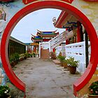 Kek Lok Si Temple gate by Tamara Travers