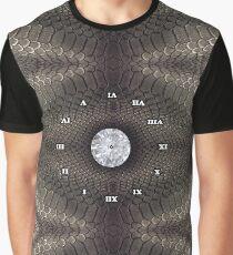 steampunk bondage, skin, skin pattern, diamond, brilliant, rock, adamant, minikin, watch face, clock face Graphic T-Shirt