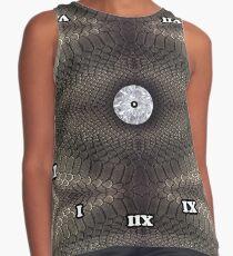 skin, skin pattern, diamond, brilliant, rock, adamant, minikin, watch face, clock face Contrast Tank
