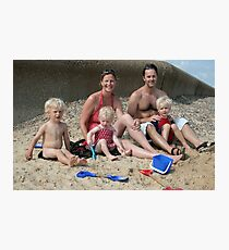 Kate's Family Photographic Print