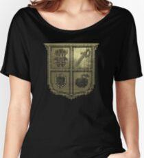 3D DOT GOLD SHIELD Women's Relaxed Fit T-Shirt