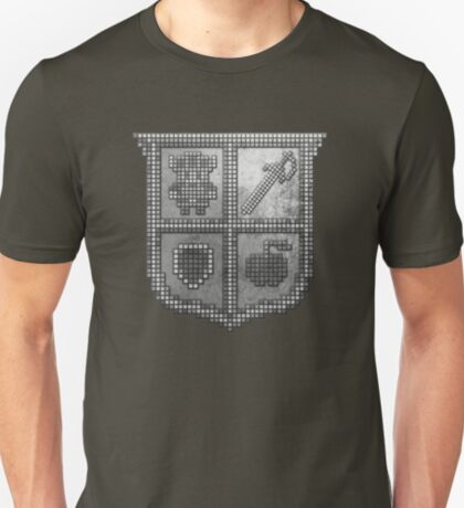 3D DOT SILVER SHIELD T-Shirt