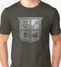 3D DOT SILVER SHIELD Unisex T-Shirt