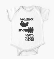 Woodstock 1969 Baby Body Kurzarm