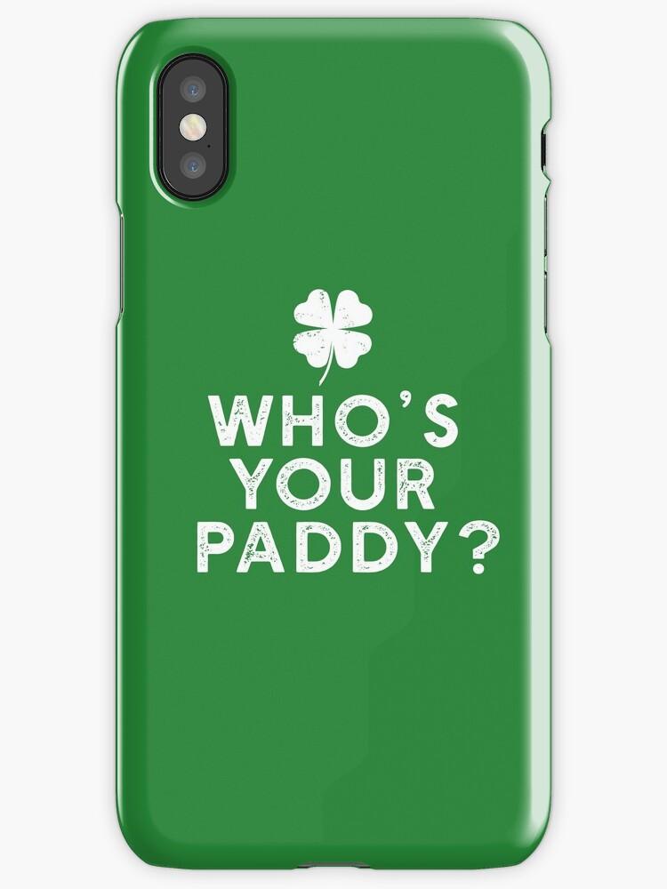 Funny St. Patrick's Day pun shamrock clover by starkle