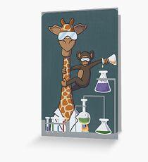 Animal Science Greeting Card