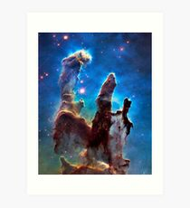 Eagle Nebula (aka Pillars of Creation) Art Print