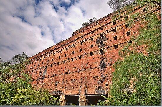 Man O War - Glen Davis Shale Mining Ruins - The HDR Experience    by Philip Johnson