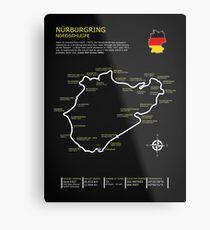 Lienzo metálico Nurburgring