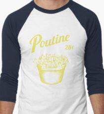 Poutine Men's Baseball ¾ T-Shirt