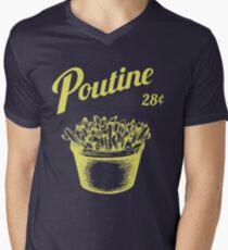 Poutine Men's V-Neck T-Shirt