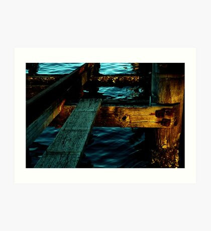 ~Peer at a Pier~ Art Print
