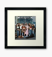 almost famous group shot Framed Print