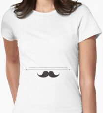 t tash (instant disguise) Womens Fitted T-Shirt