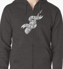 SWITCH BLADE Zipped Hoodie
