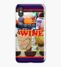 Wit and Wine iPhone Case/Skin