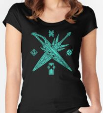 X BLADES Women's Fitted Scoop T-Shirt