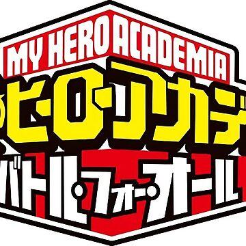 Boku No Hero / My Hero Academia Logo Sticker by limbo
