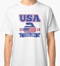 USA Curling 2018 Classic T-Shirt