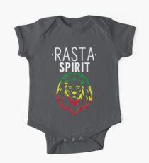 RASTA SPIRIT WEISS Kurzärmeliger Einteiler