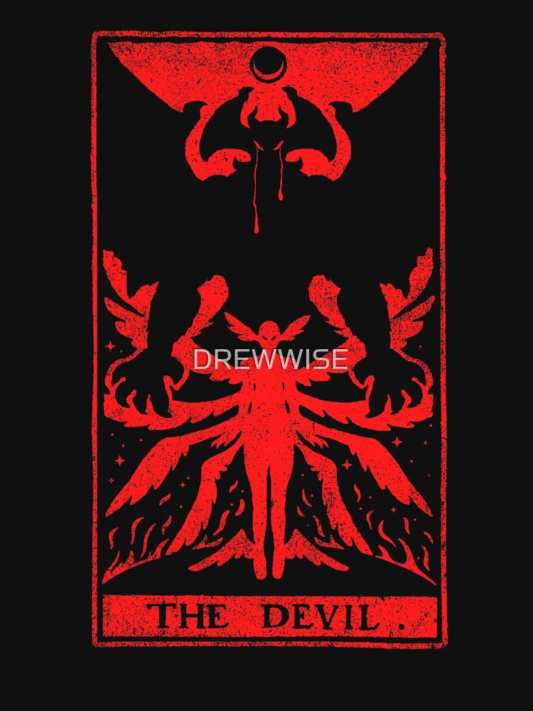 DEVIL TAROT by DREWWISE