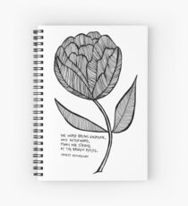 strong at the broken places Spiral Notebook