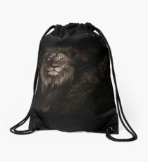 ALPHA Lion Design Drawstring Bag