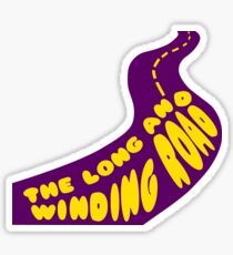 The Beatle - The long and winding road Sticker