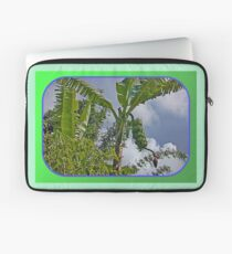 Bananas Against Clouds and Sky Laptop Sleeve