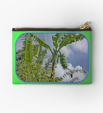 Bananas Against Clouds and Sky Studio Pouch