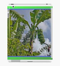 Bananas Against Clouds and Sky iPad Case/Skin