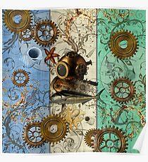 Nautical Steampunk Poster