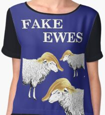 Fake Ewes Chiffon Top