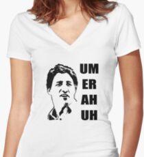 Ottawa Wisdom Women's Fitted V-Neck T-Shirt