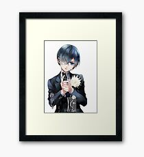 BLACK BUTLER Framed Print