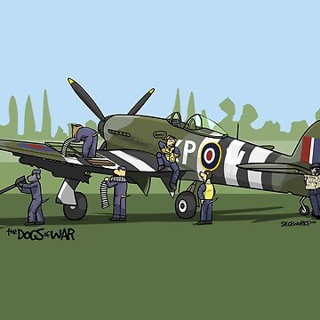The Dogs of War: Hawker Typhoon by siege103