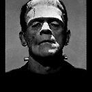 Frankenstein Face by kislev