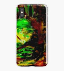 Abstract Forest in the Summer iPhone Case