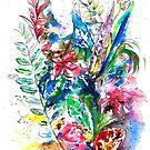 Watercolor Garden IV by IsabelSalvador