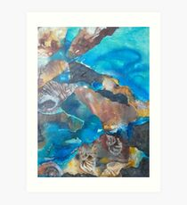 Sapphire Coast Art Print