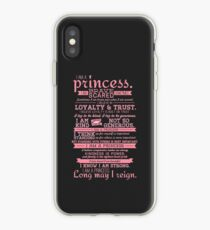 I Am a Princess (version 2) iPhone Case